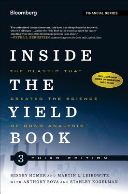Inside the Yield Book By Homer, Sidney/ Leibowitz, Martin L.